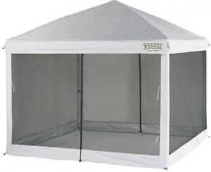 Outdoor-Screenhouse-10-039-x-10-039-Bug-Proof-Screen-House-Tent-Portable-Fast-Set-Up