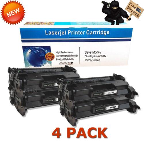 4PK 26A CF226A Toner Cartridges For HP LaserJet Pro M402dn M402n M426fdn M426fdw