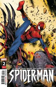Spider-Man-2-of-5-2019-Marvel-Coipel-Cover-First-Print-J-J-Abrams-New