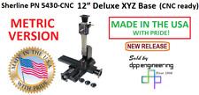 Sherline 5430 Cnc Metric Version Cnc Ready 12 Xyz Base See 5420 Cnc For Inch