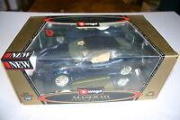 1/18 Burago Maserati 3200 Gt 1998 Dark Metallic Blue In Display Box