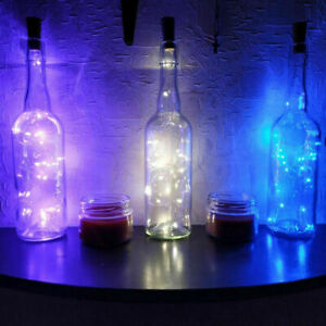 Battery-Solar-Powered-LED-String-Lights-Copper-Cork-Wire-Wine-Bottle-Lamp-SS494