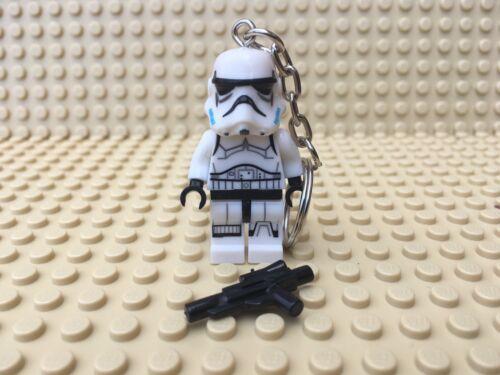 Keychain UK SELLER Star Wars Stormtrooper Mini Figure Keyring