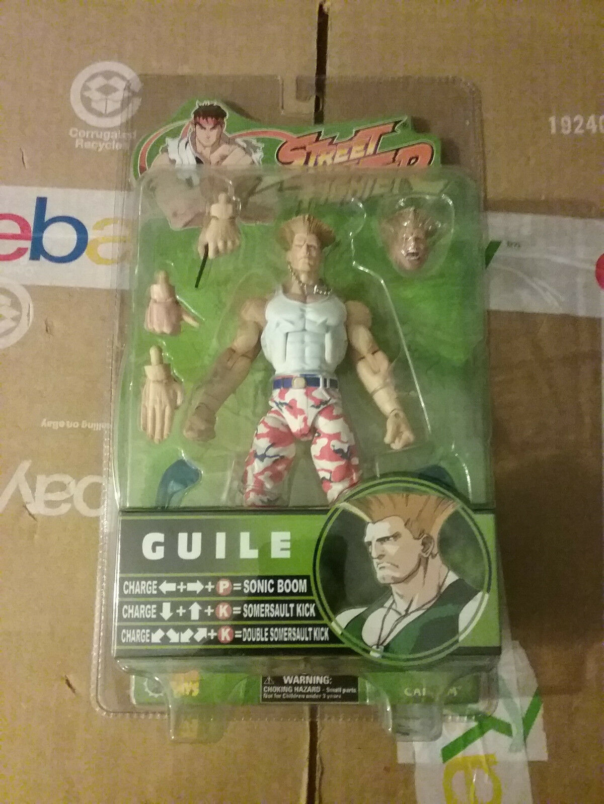 SOTA Street Fighter Fighter Fighter RD 3  USA Camo Ex  Guile  Figure New fec4d6