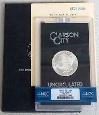 1885 CC CARSON CITY MORGAN SILVER DOLLAR GSA HOARD NGC MINT STATE 63
