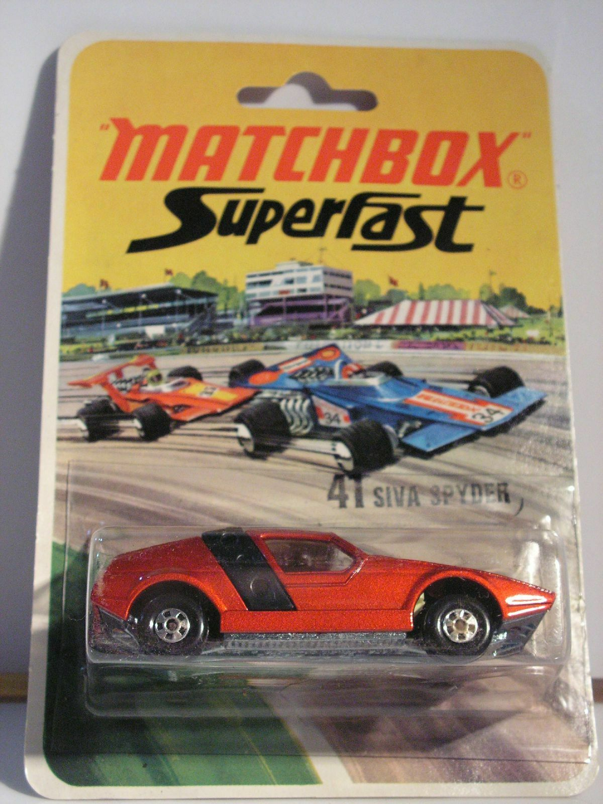 Matchbox siva spyder - 41 mib new box superfast - 1