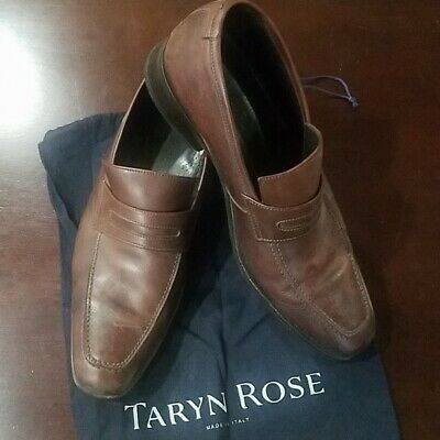 Taryn Rose Leather Loafers Men's Size