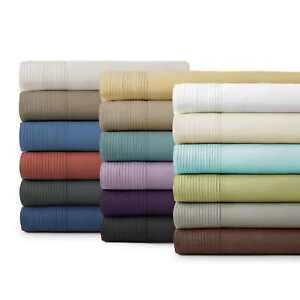 Premium-Quality-21-inch-Extra-Deep-Pocket-Stylish-Pleated-Hem-Sheet-Set