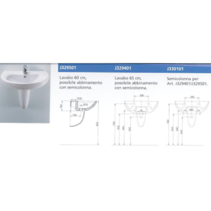 Ideal Standard Lavabi Sospesi.Dettagli Su Lavabo Lavandino Sospeso Tenax Ideal Standard Cm 50 Con Semicolonna