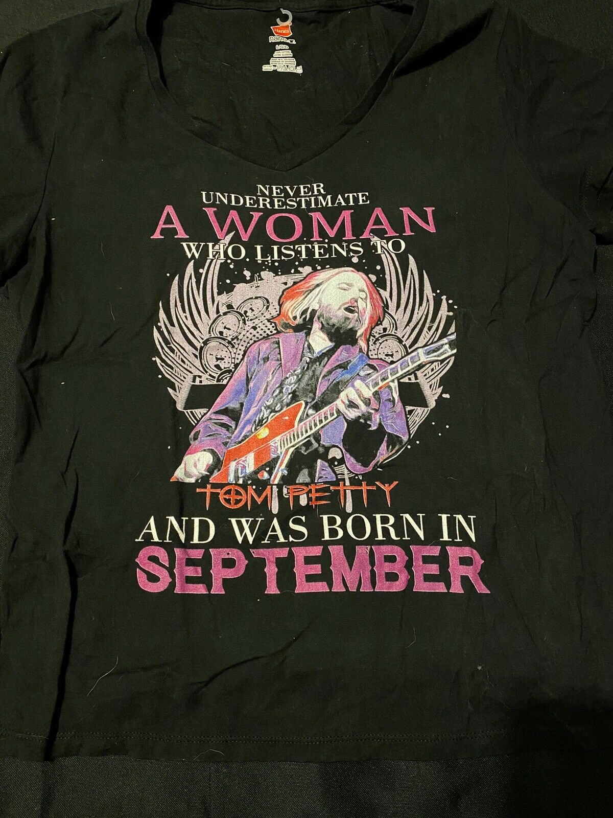 Never Underestimate A Women Who Listens To Tom Pe… - image 2