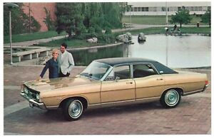 1968 Ford MUSTANG HARDTOP Original Dealer Advertising Promo Postcard UNUSED Ex ^