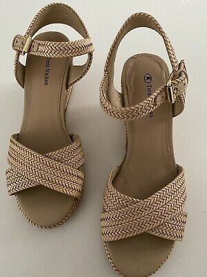 Trent Nathan Bahamas Tan Sandals Brand New | eBay