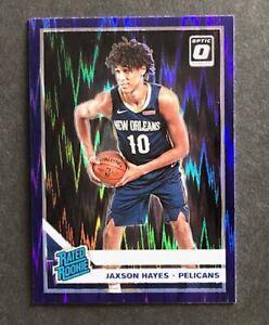 2019-20-Jaxson-Hayes-Donruss-Optic-Purple-Shock-Prism-Rated-Rookie-190-RC