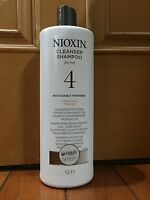 Nioxin System 4 Cleanser For Fine, Noticeably Hair 1000ml / 33.8oz (chemically)