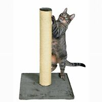 Trixie Pet Products Pet Cat Scratcher Sisal Scratching Post Parla Platinum Gray