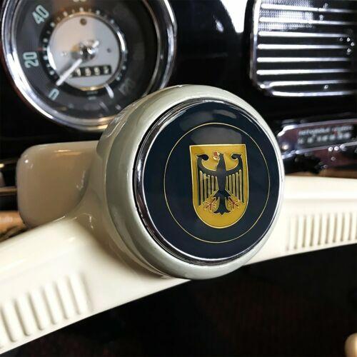 Deutschland 3Pcs Kit Horn Button /& 7mm Shift Knob Bus Bug T3 Hood Crest