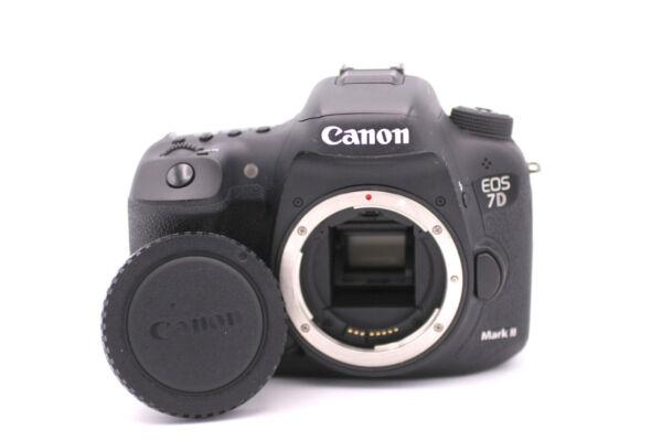 Canon Eos 7d Mark Ii 20.2mp Caméra Slr Numérique - Noir (corps Seulement) Officiel 2019