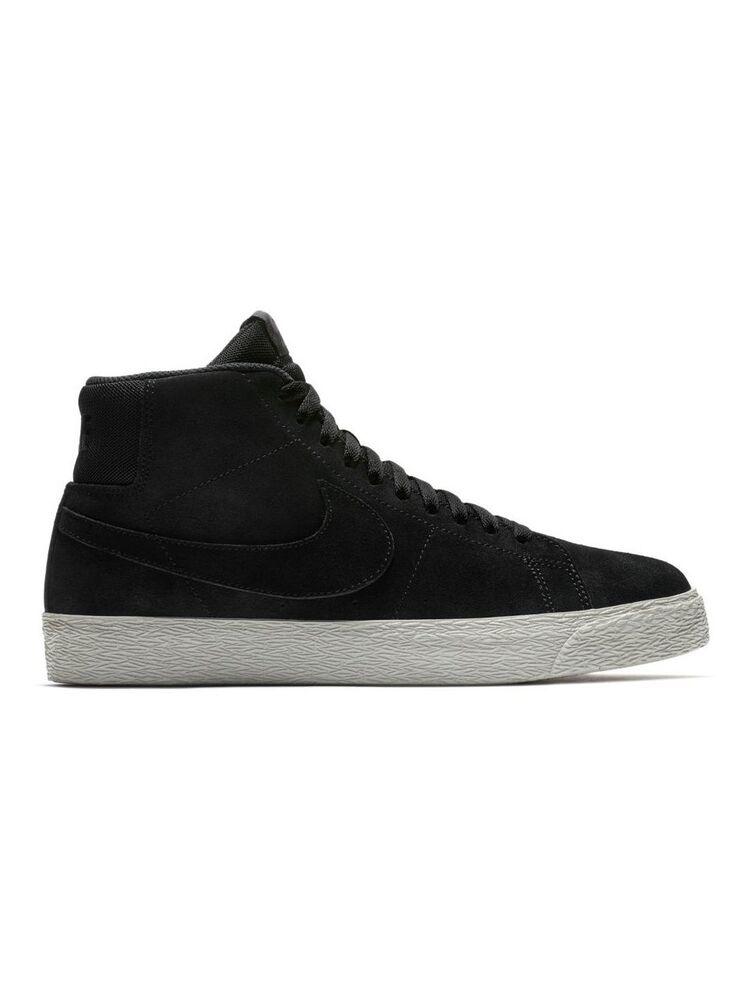 Mens Nike SB Zoom Blazer Mid Deconstructed noir Pro Violet AH6416-001