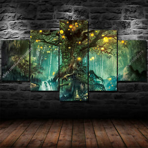 Image Is Loading Tree Of Life Wall Art Hanging Decor Canvas
