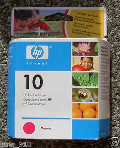 Cartouches-d-039-imprimante-HP-10-MAGENTA