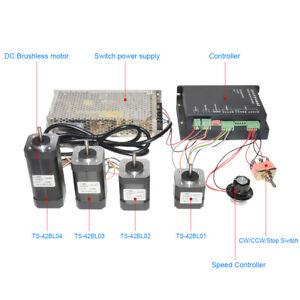 42mm-BLDC-24V-5000rpm-High-Torque-Brushless-Driver-3-Phases-DC-Motor-Power