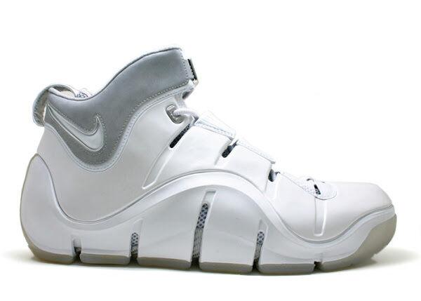 2006 - zoom lebron 4 iv assaltatore white 3m dimensioni 314647-112 1 2 3 5 6