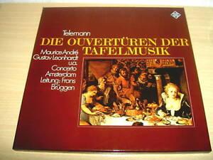 2-LP-DIE-OUVERTURENderTAFELMUSIK-Telemann