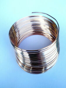 6 Metres Solid Bare Round Copper Wire 0.8mm