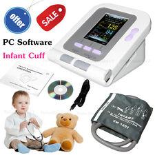 Digital New Born/Infant/Pediatric Blood Pressure Monitor Sphygmomanometer+SW