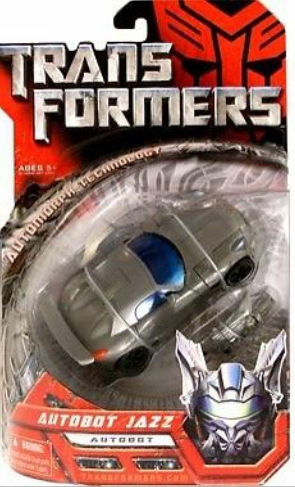 clásico atemporal Transformers Película De lujo Clase Autobot Autobot Autobot Jazz sellado de fábrica 5 Pulgadas Hasbro 2006  marca de lujo