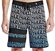 Hurley Phantom Block Party Haze X Stecyk  Swim Trunks  Blue  Size 33