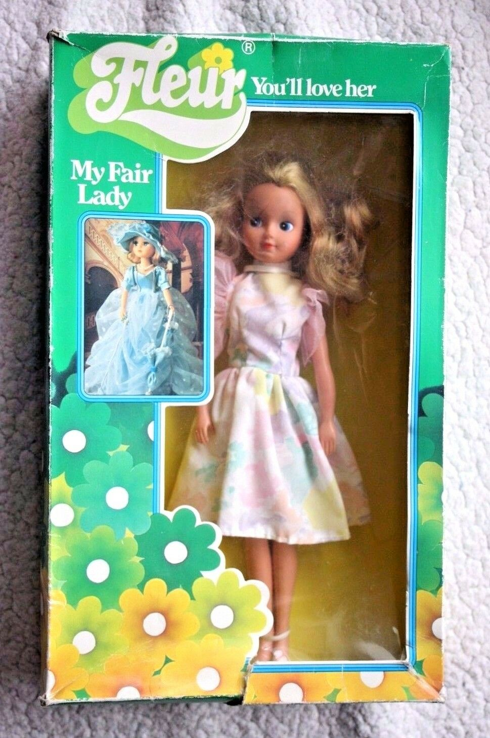 FLEUR DOLL, 70´S THE DUTCH BARBIE  SIMILAR SINDY  BOXED POSEABLE AVERAGE.