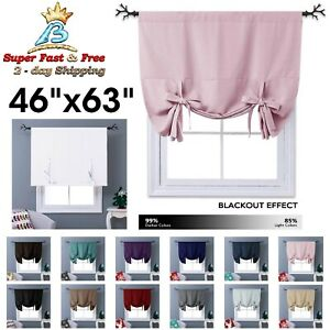 Blackout Thermal D Curtains Tie Up