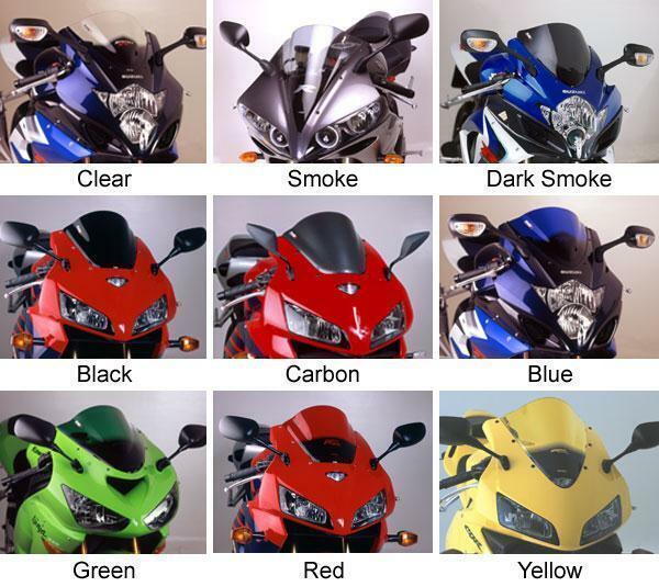 PUIG 6479N Racing Windscreen Black Honda CBR500R