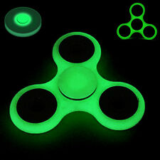 Glowing in the Dark Hand Spinner Tri Fidget Focus Tool Desk Toy Stocking Stuffer