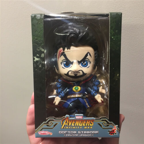 Genuine Hot Toys Avengers Infinity War doctor strange Cosbaby toy FIghting Ver