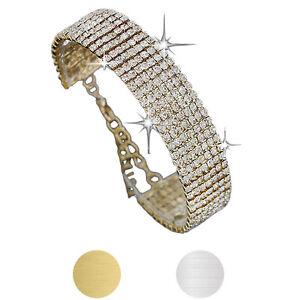 Ladies-Women-Crystal-Rhinestone-Bracelet-Bangle-For-Women-Bride-Wedding-Gift