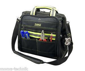 Reflektierende-Werkzeugtasche-Profi-Tasche-Werkzeugkoffer-FLUO-Toolpack-362-050
