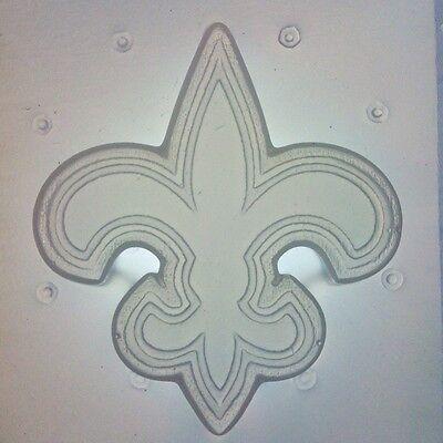 Flexible Resin Mold New Orleans Saints Fleur De Lis Football Logo Craft Supplies