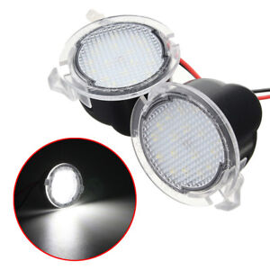 A Pair Led Side Mirror Puddle Light For Ford F 150 2009