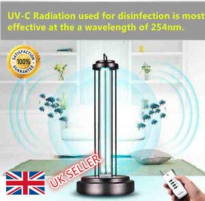 Details About Ultraviolet Sterilizing Uv Lamp Light Room Kill 99 Virus Bacteria Mites Germ