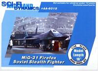 Anigrand Models 1/48 Mig-31 Firefox Stealth Fighter