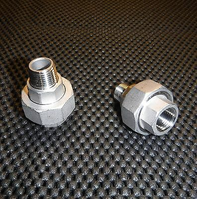 """FC-075 STAINLESS STEEL COUPLING 3//4/"""" NPT FEMALE PIPE FITTING"""