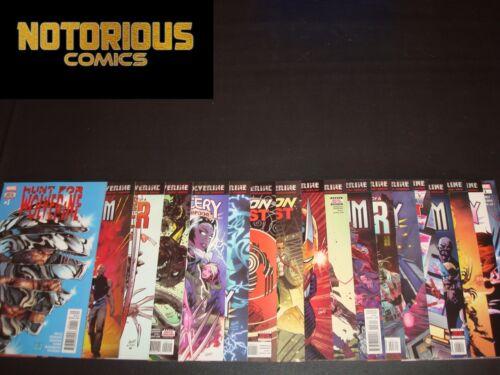 Hunt for Wolverine Complete Set Comic Lot 18 Books 4 Mini Series 2 One Shots