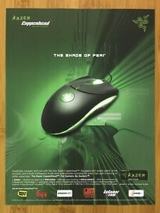 2005 Razer Copperhead Gaming Mouse Print Ad/Poster Official Authentic Promo Art