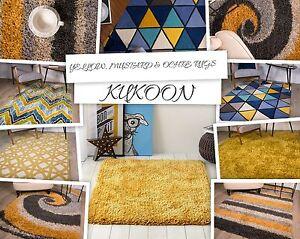 Gold mustard rugs ochre rugs for living room modern yellow - Gold rugs for living room ...