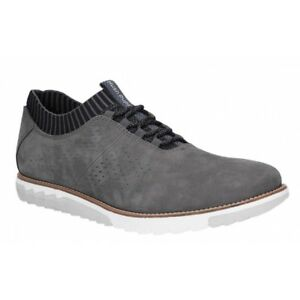 17977e7c1831b Hush Puppies EXPERT KNIT OXFORD Mens Leather Casual Trainers Shoes ...