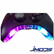 Xbox 360 PRE-WIRED Controller Bowtie / Mic Piece LED Mod (Flashing Rainbow)