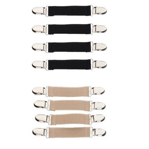 4Pcs Sturdy Stretchy Glove Mitten Clip Sweater Shawl Blouse Collar Clasp Grip