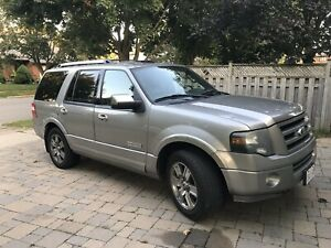 2008 Ford Expedition FULLY LOADED PROPANE/GAS